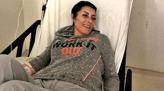Apar topar hastaneye kaldırılan şarkıcı Gülay'ın sağlık durumu iyiye gidiyor.