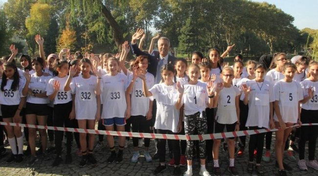Bursa'da kros koşusu