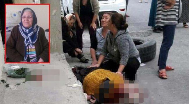 Çocukların oyun oynamak için yuvarladığı kamyon lastiği 2 kadına çarptı: 1 ölü, 1 yaralı