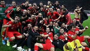 EURO 2020'ye katılma hakkı kazanan Milli Takım'a 58 milyonluk gelir.