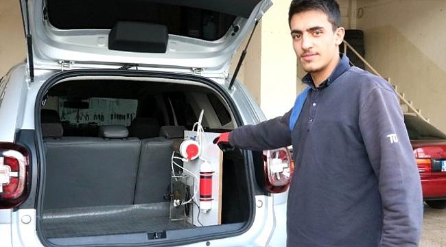 Gaziantepli oto tamircisinin geliştirdiği sistem ile araçlar yüzde 50 suyla çalışıyor.