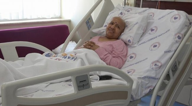 Hindistan'dan Denizli'ye geldi, sağlığına kavuştu
