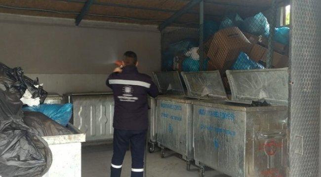 Mudanya'da ilâçlama çalışmaları devam ediyor