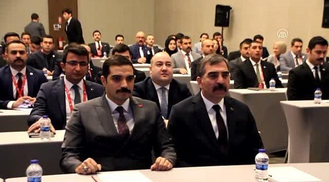 İl Ocak Başkanları İstişare Toplantısı.