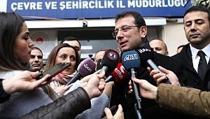 Cumhurbaşkanı Erdoğan'ın Kanal İstanbul'la ilgili yaptığı arsa çıkışına İmamoğlu'ndan yanıt geldi.
