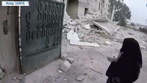 Esat Güçleri Suriye'nin Halep Kırsalını Vuruyor.