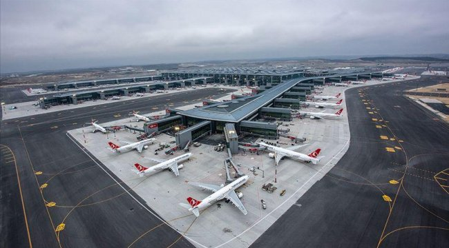 İstanbul havalimanlarından 104 milyondan fazla yolcu uçtu