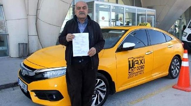 Kaçak göçmen taşıyan taksiciye 7 bin TL ceza.