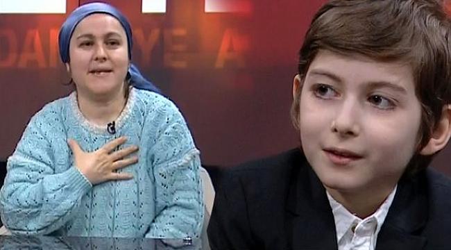 Küçük filozof Atakan'ın annesi canlı yayında duyurdu: İstanbul'daki bütün kolejlerden teklif aldık.