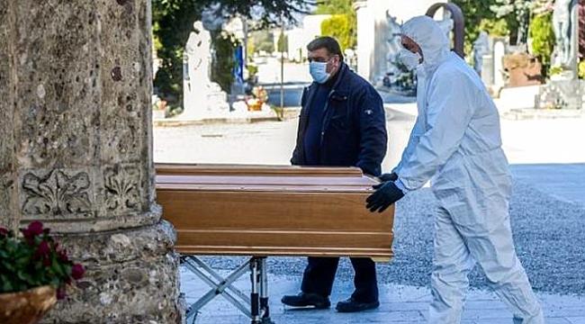 Kovid-19 salgını, İspanya'da bir günde 738 kişinin ölümüne sebep oldu.