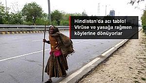 Sokağa çıkma yasağı ilan edilince yüz binlerce işçinin köyüne dönmek için yürümeye başlaması, Hindistan'daki acı tabloyu ortaya çıkardı.