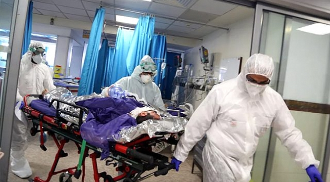 Son Dakika: ABD'de koronavirüs nedeniyle bir günde 1344 insan hayatını kaybetti.