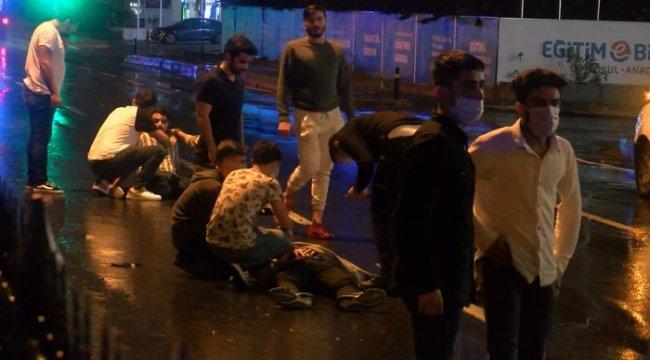 Sarıyer Maslak'ta zincirleme kaza: 6 yaralı