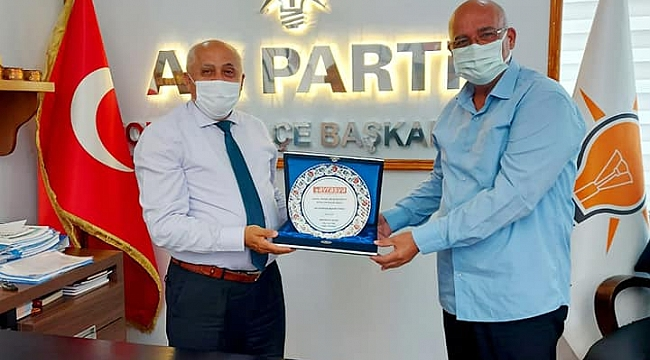 AK Parti Bornova İlçe Başkanlığı Ziyaretimiz.