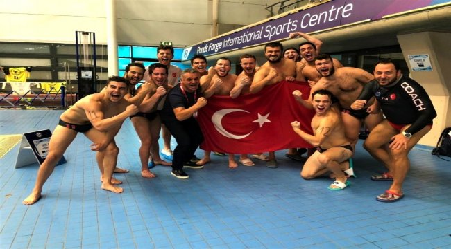 Sualtı hokeyinde rakip tanımayan Türk Milli Takımı rakiplerinin korkulu rüyası oldu
