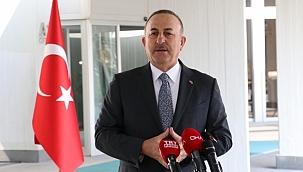 Bakan Çavuşoğlu: 'Ukrayna'da ve çevresindeki son gelişmeleri yakından takip ediyoruz'.