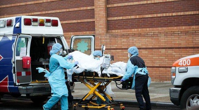 ABD'de Kovid-19 nedeniyle ölenlerin sayısı 576 bini geçti