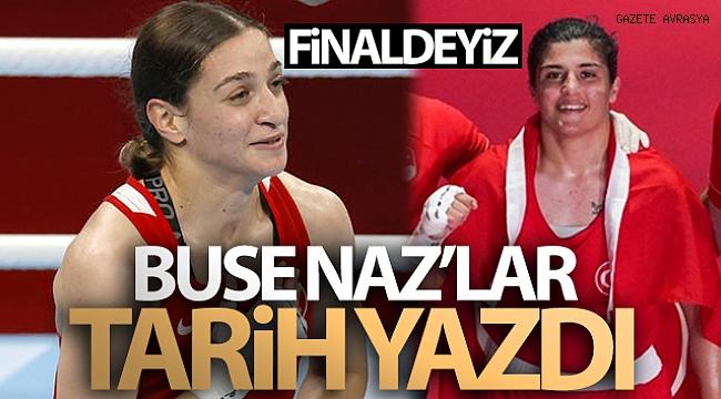 Buse Naz Sürmeneli ve Buse Naz Çakıroğlu finalde!.