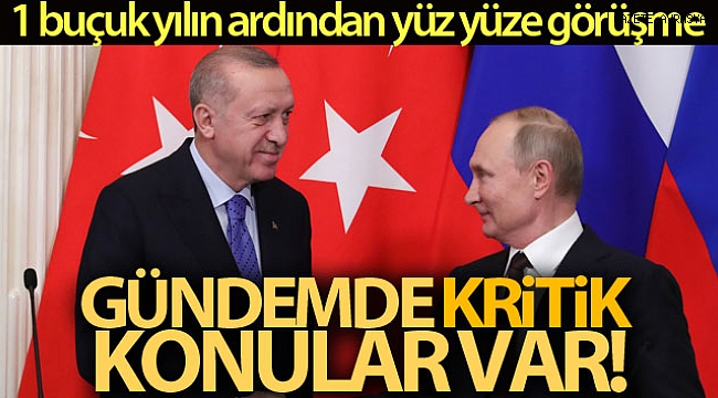 Erdoğan-Putin zirvesinin ana gündem maddesi: İdlib.