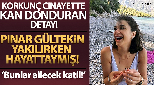 Pınar Gültekin cinayetinde kan donduran detay!.