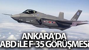 ABD ve Türkiye F-35 anlaşmazlığı konusunda bir araya geldi.