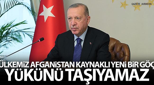 Cumhurbaşkanı Erdoğan: 'G20 bünyesinde bir çalışma grubu oluşturulmasını öneriyorum'.