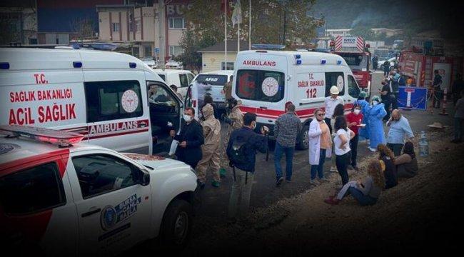Son dakika! Bursa'da kimya fabrikasında patlama: 1 işçi hayatını kaybetti, 3 işçi yaralandı