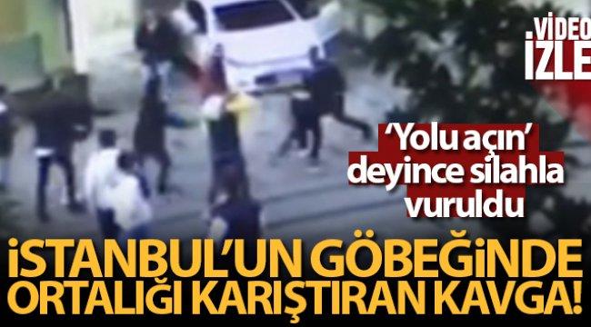 Taksim'de ortalığı karıştıran silahlı kavga