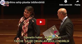 """""""Tarihe Saygı Yerel Koruma Ödülleri"""" ."""